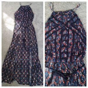 NWT Lucky Brand Floral Maxi Dress